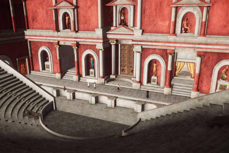 Bologna Welcome - Macchina del Tempo A virtual tour of roman Bologna