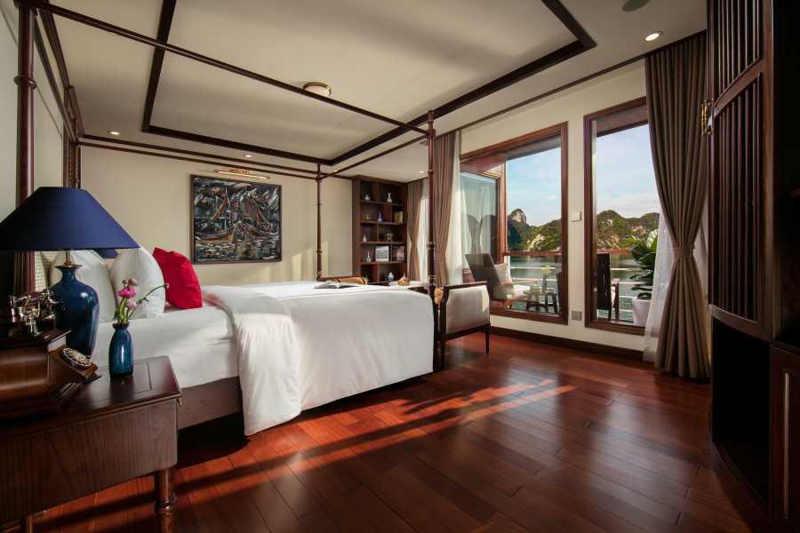 Friends Travel Vietnam Heritage Cruises Binh Chuan Cat Ba Archipelago  | 2D1N Lan Ha Bay