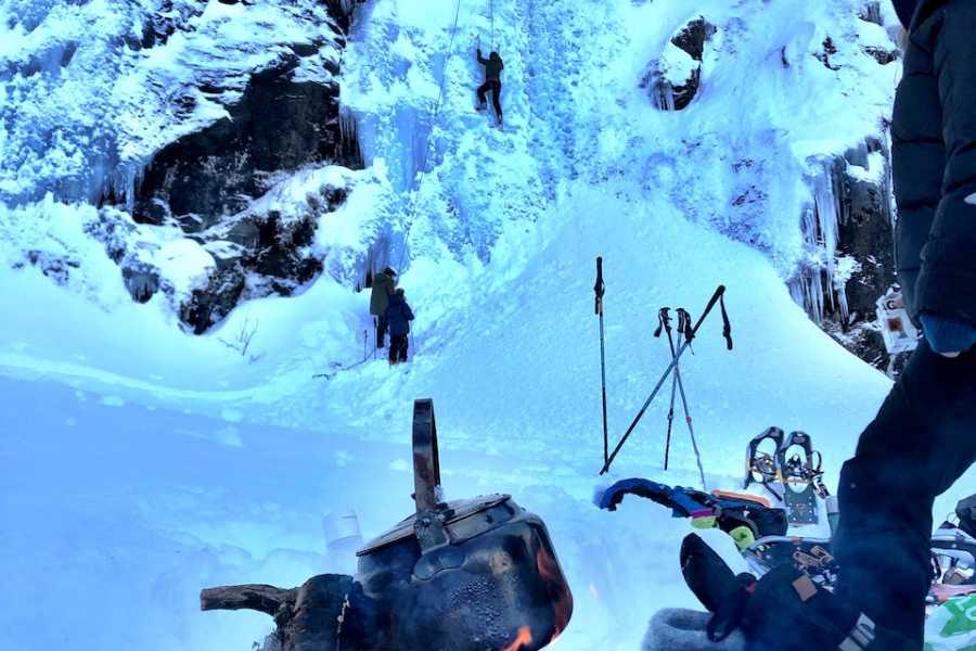 Arctic Sea to Summits Ice climbing, introduction