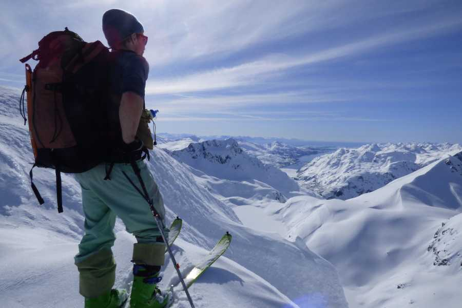Arctic Sea to Summits Skitouring, full day
