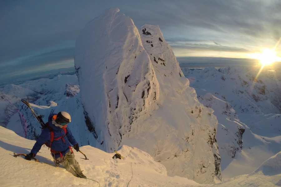 Arctic Sea to Summits Skitouring, full day