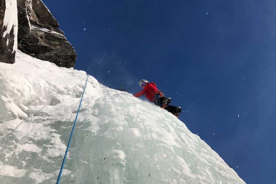 Arctic Sea to Summits Ice climbing, full day