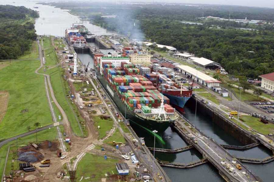 Aventuras 2000 CVDL 2020 - Panama Canal Partial Transit