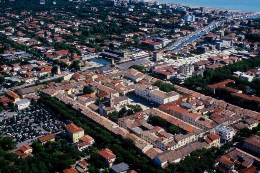 Cervia Turismo Cervia Overview at the sunset