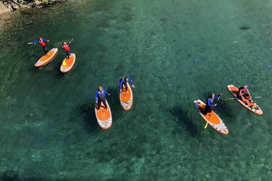 Friluftslek SUP tur på Istra elven-Åndalsnes