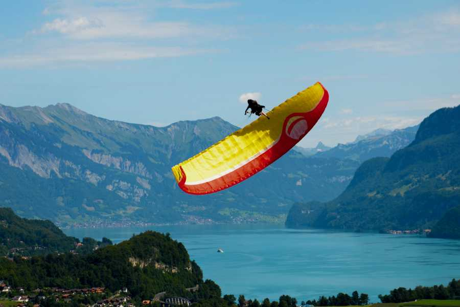 Swiss Paragliding & Adventure GmbH Interlaken Höhenflug