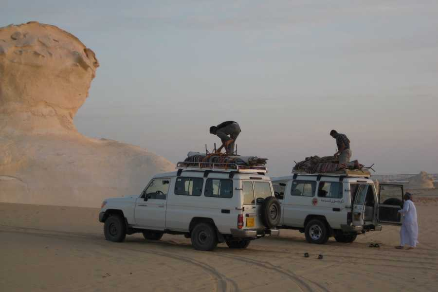 Deluxe Travel Budget White Desert Camping tour