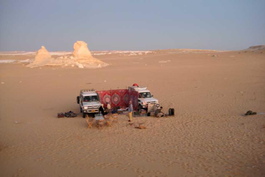 Deluxe Travel Budget White Desert Camping tour
