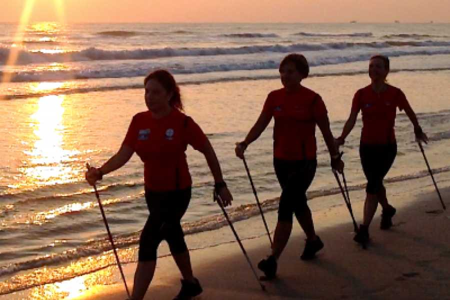Cervia Turismo Nordic Walking between sea and pine forest