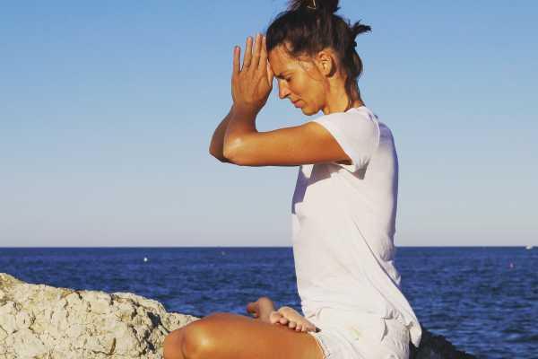 Lezione di Yoga in Spiaggia