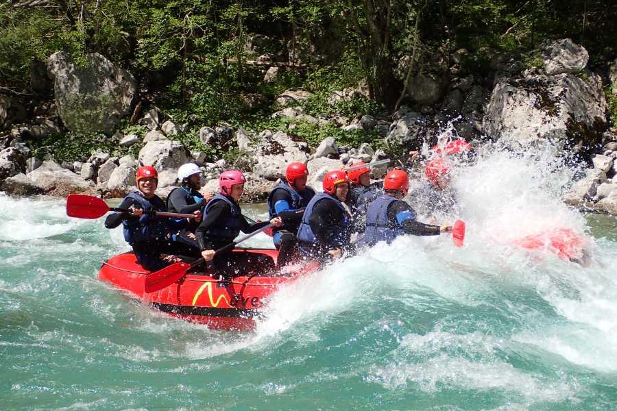 HungaroRaft Kft Rafting hétvége Szlovéniában