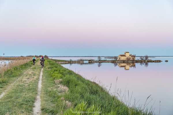 Rotta del Sale Bike Trail: Cervia-Venezia Offroad - Tour Individuale