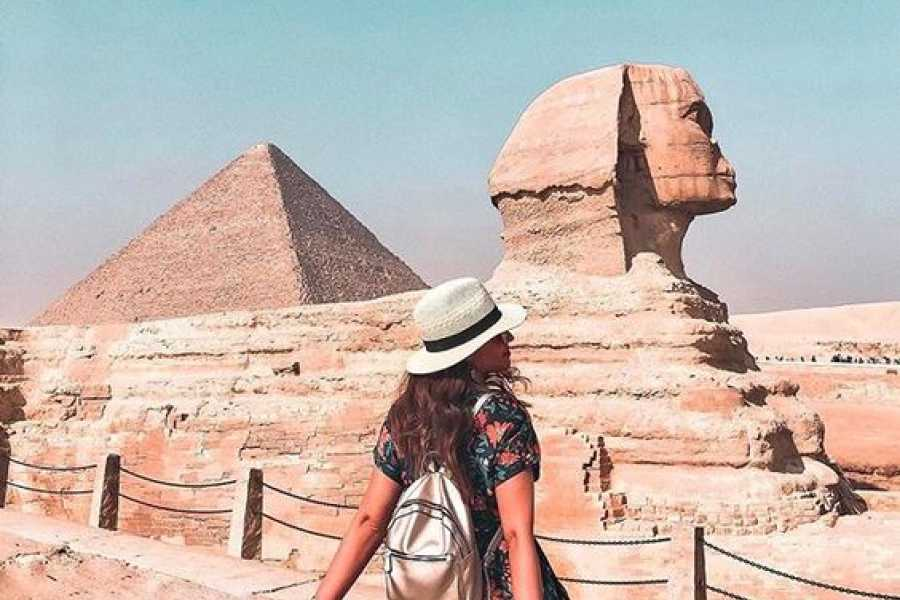 Excursies Egypte wandeltcoht bij Gizeh piramides met kameelrit vanuit Caïro