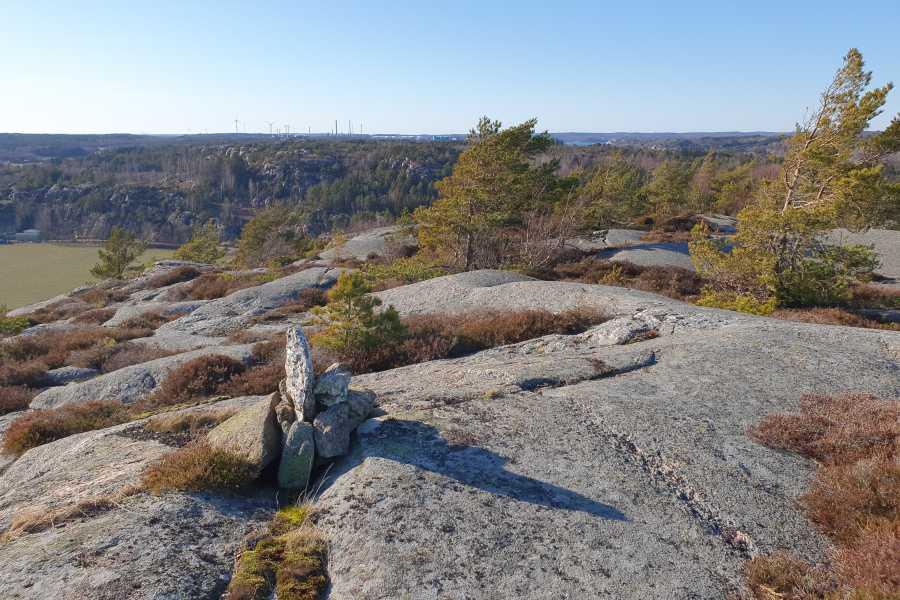 Outdoor West Vandra och scrambla: TOPPTUR till Fornborgen
