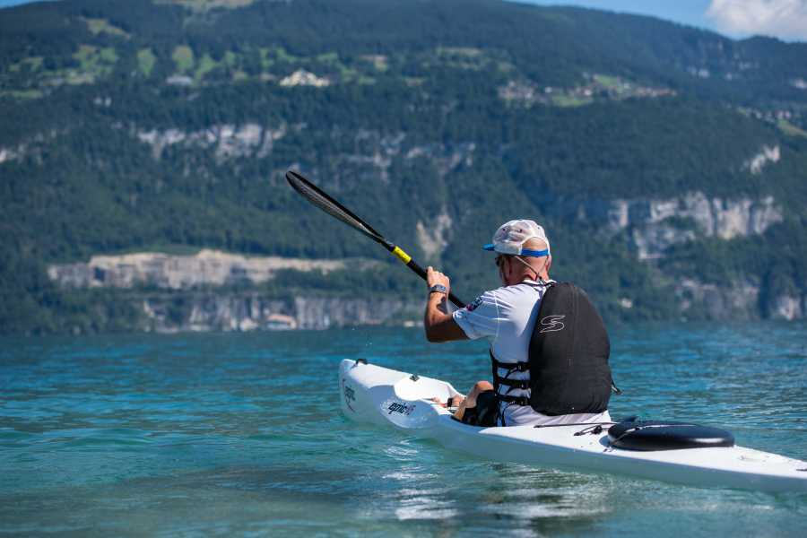 Mountainsurf Watersportscenter Surfski Tour auf dem Thunersee