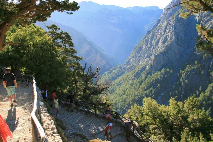 Destination Platanias SAMARIA GORGE  LAZY- Short Hike