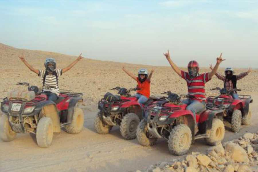 Marsa alam tours Morning Quad Bike Desert Safari from El Quseir