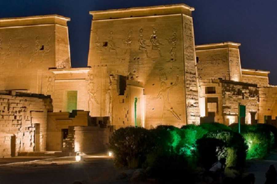 Deluxe Travel Sound and Light Show at Philae Temple