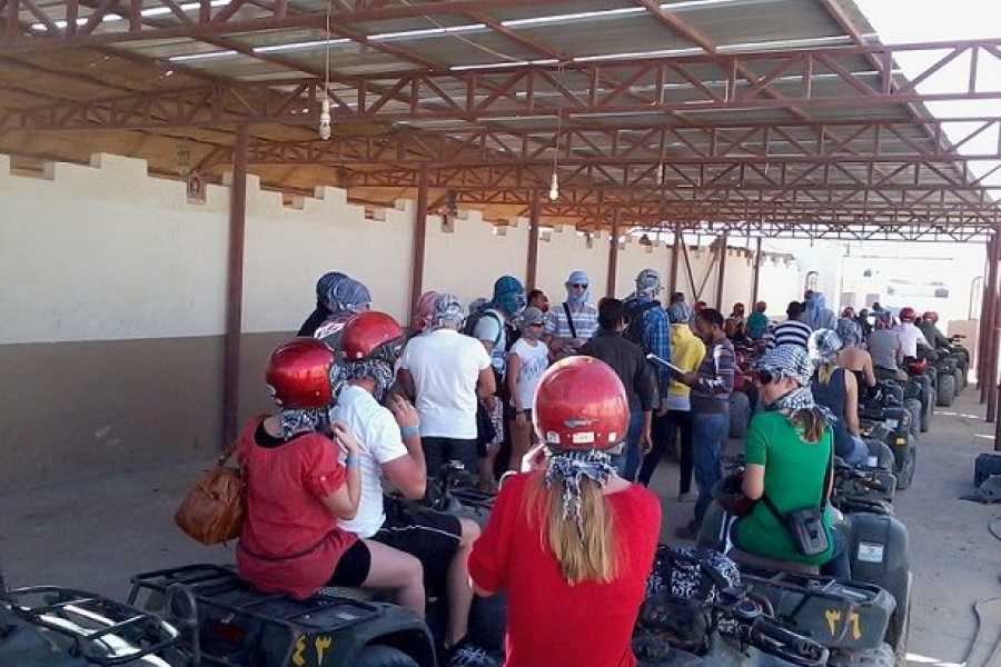 Marsa alam tours Moto Two hours Safari Excursions from El Quseir