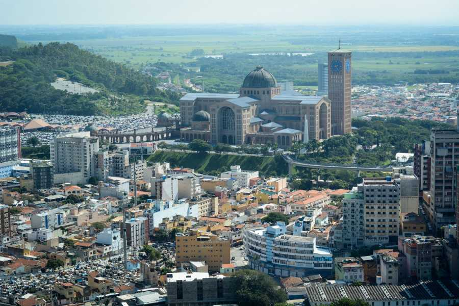 Around SP Aparecida City - The Largest Catholic Temple of Brazil