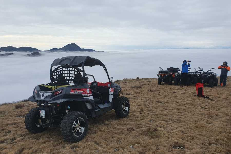 BuggyPark by HB-Adventure Switzerland 4x4 Quad/ATV Tour Misox (GR) und Tessin
