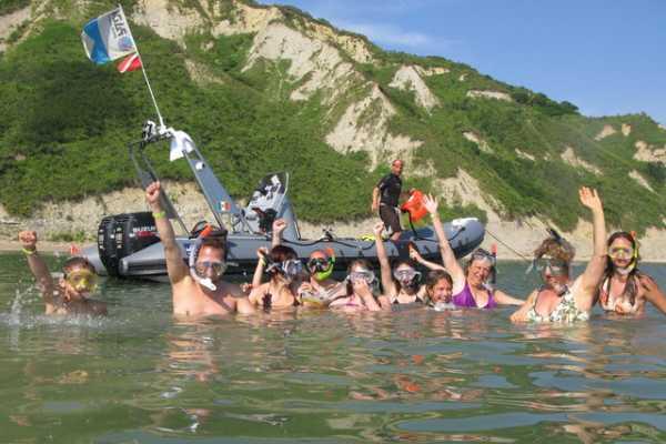 Snorkeling alla Baia degli Angeli