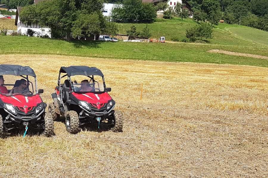 BuggyPark by HB-Adventure Switzerland 4x4 Quad/ATV Tour Individuell