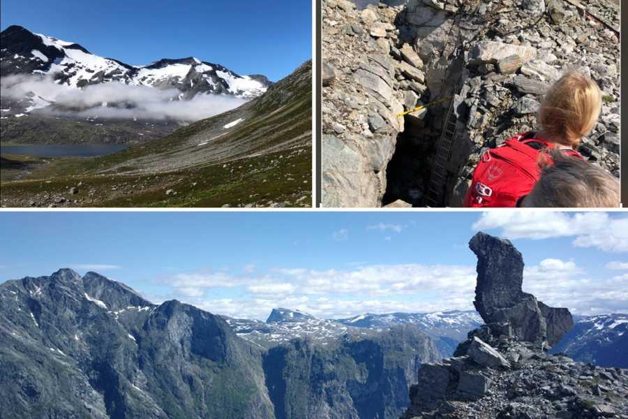 Friluftslek Glamping - Og Opplev høydepunktene i den unike Romsdalsnaturen på 1 døgn