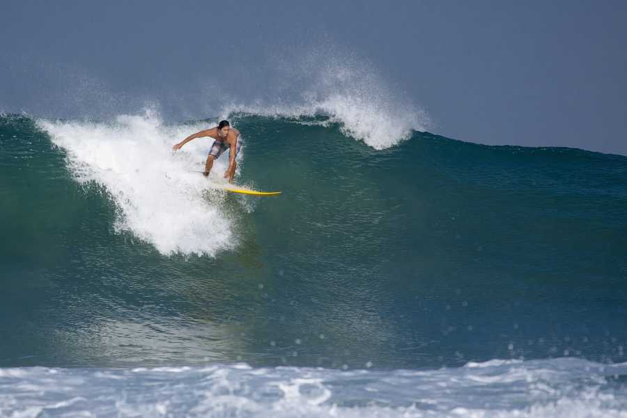 Tour Guanacaste Ollie's Point Private Catamaran Surfing Experience