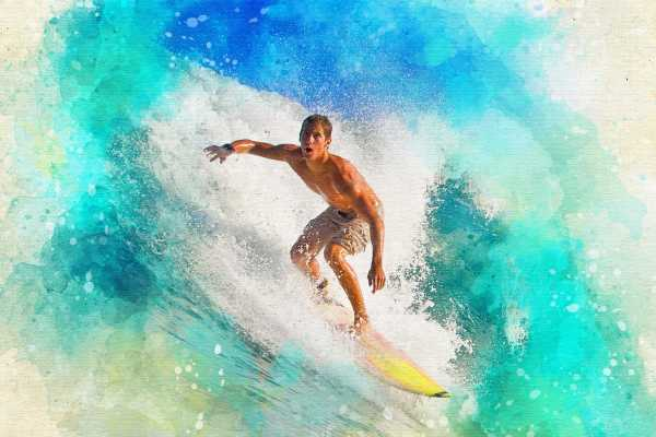 """""""Ollie's Point"""" all-day surfing expedition."""