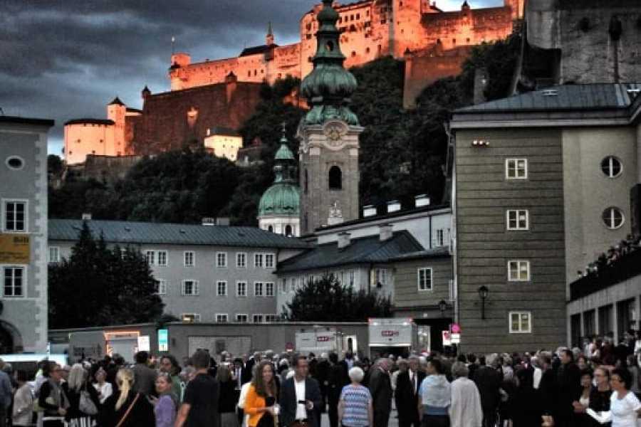 """Kultur Tourismus Salzburg """"Eine Stadt als Bühne"""" Jubiläums Führung zu den Salzburger Festspielen"""