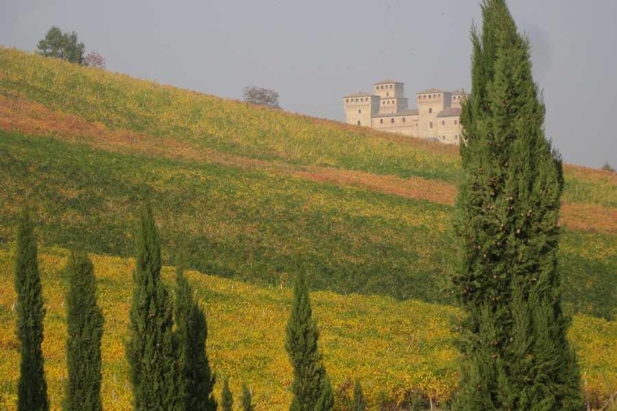Emilia Romagna Welcome Auf den Spuren der Alten Pilgerwege: Bianca und die Schwebende Krone + Leckeres aus dem Pilgerbeutel