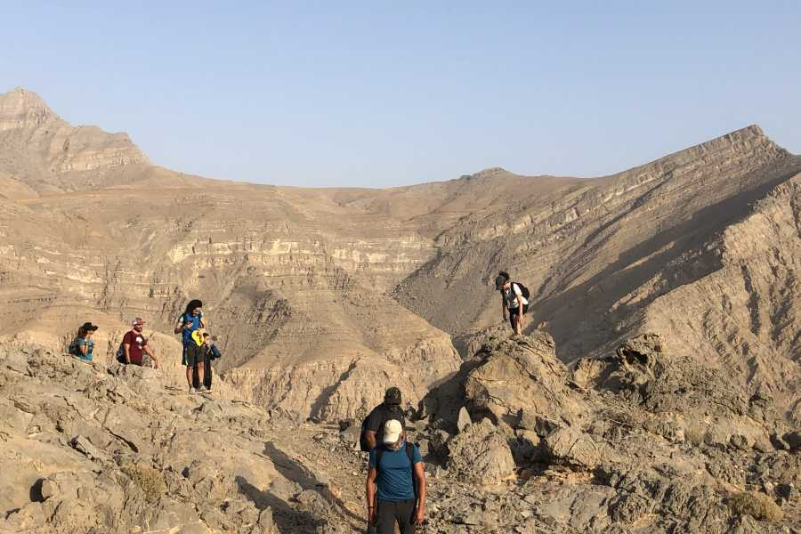Adventurati Outdoor Samar Trail hike in Jebel Jais (Weekday private groups)