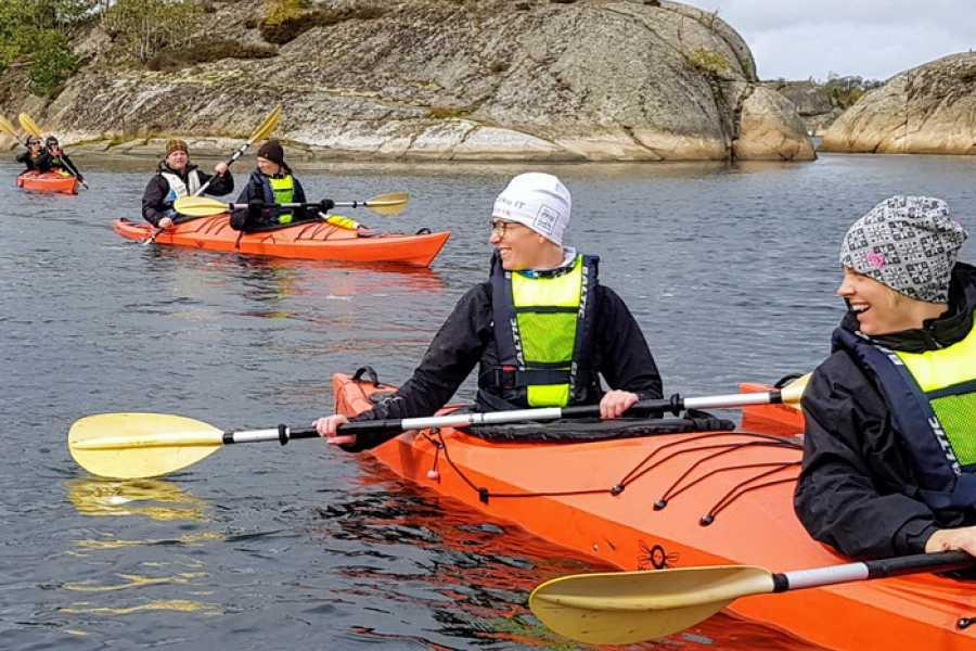 Outdoor West Kajaktur i skyddade farvatten: SKEPPSBYGGAREN
