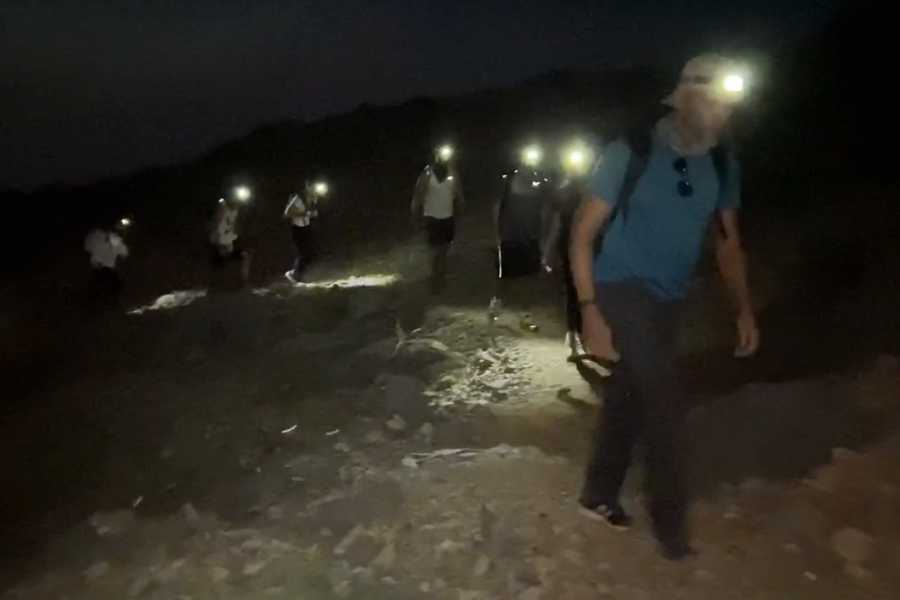 Adventurati Outdoor Samar Trail Night Hike in Jebel Jais