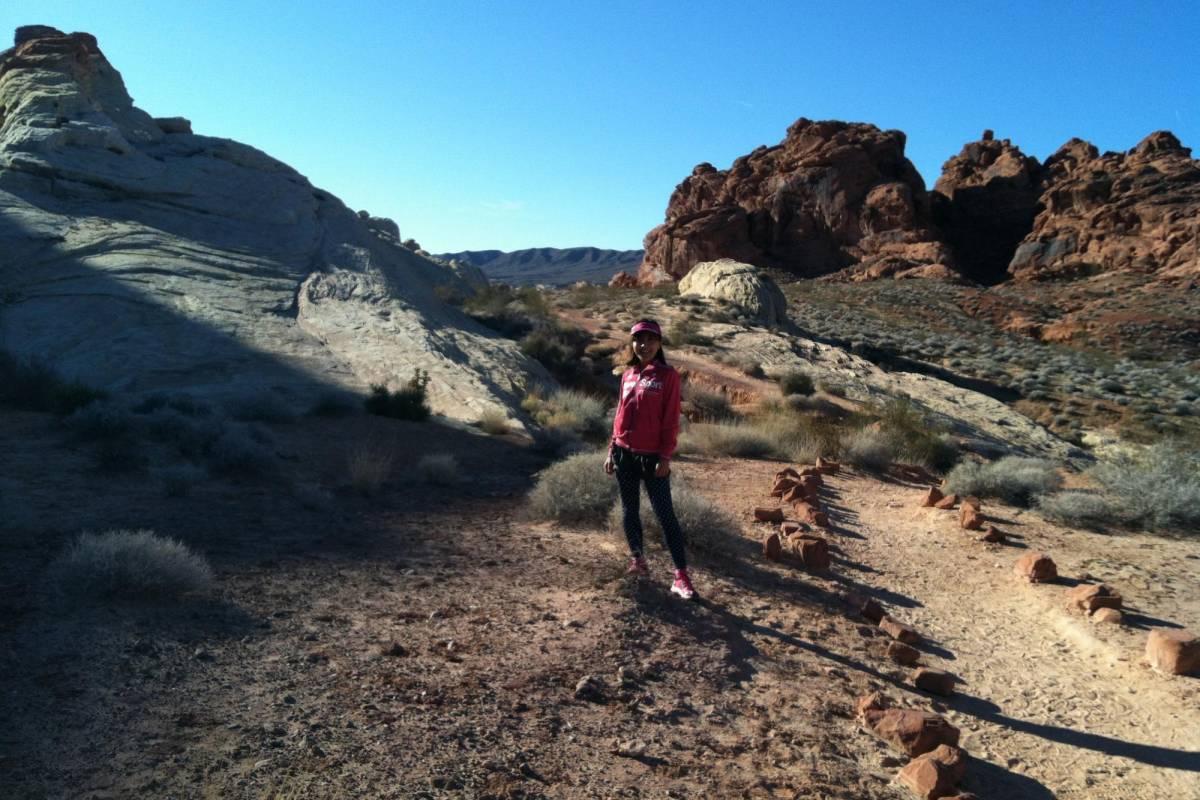Las Vegas Running Tours (C) Valley of Fire Run/Hike Tour