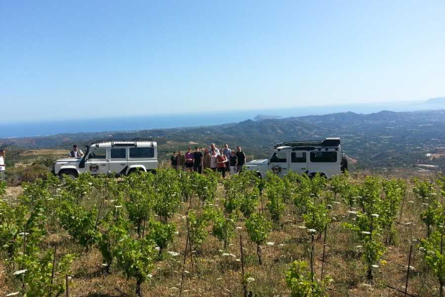 Destination Platanias Sunset Safari Tour with wine tasting, 4-5 hours 71 EUR