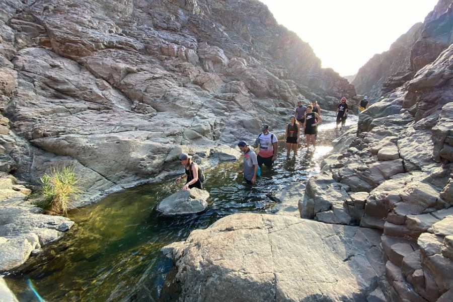 Adventurati Outdoor Hike Through Water Pools with New Return Route - 14th Aug
