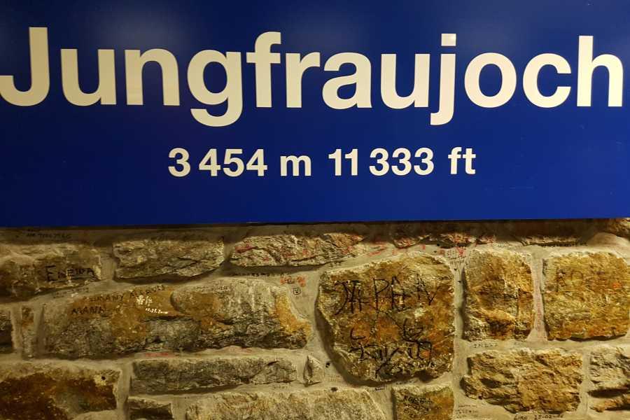 SwissTravelGuide Self-Guided Tour: Jungfraujoch - Top of Europe