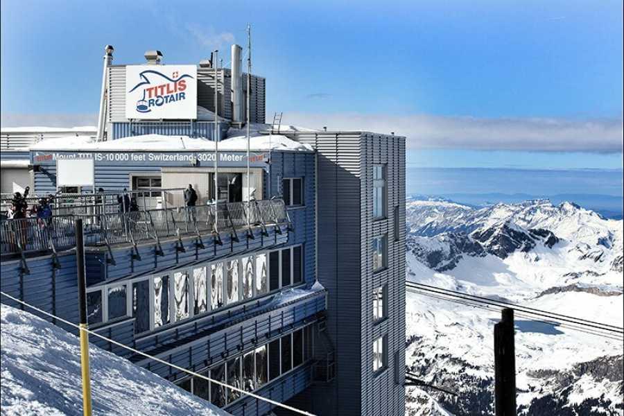 SwissTravelGuide self-guided: Mount Titlis Glacier Exkursion plus Ice Flyer