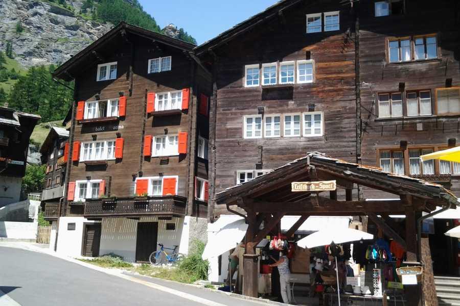 SwissTravelGuide Self-Guided Tour: Zermatt Alpine Village Matterhorn Area plus Mt. Gornergrat