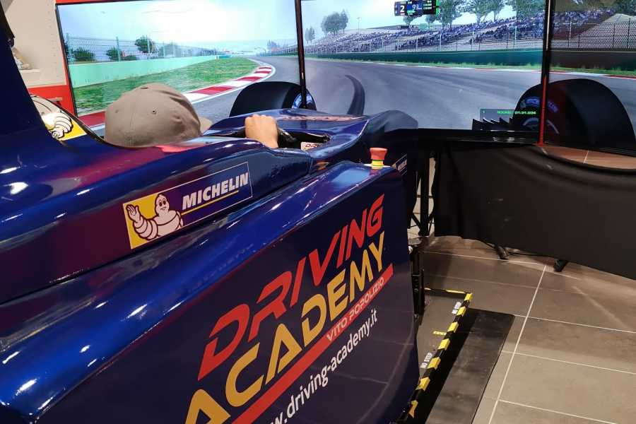 IF Imola Faenza Professional Formula One Simulators at the Imola Tacetrack