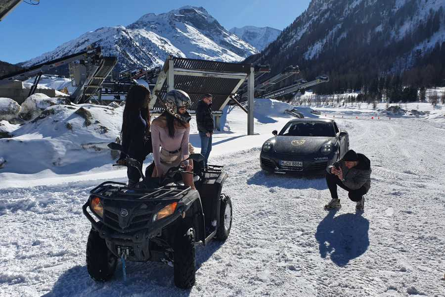 BuggyPark by HB-Adventure Switzerland One hour basic experience tour with 4x4 ATV/Quads
