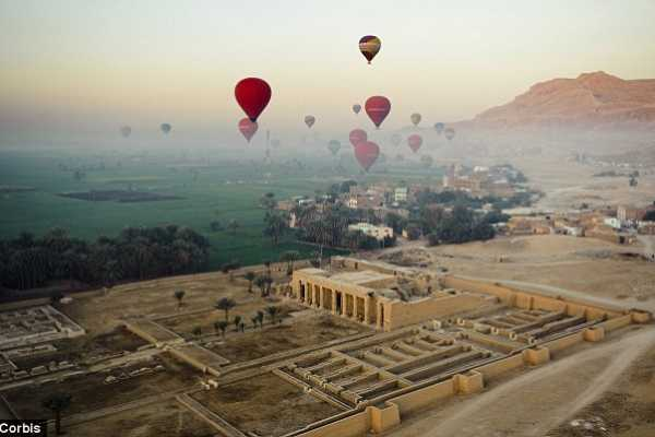 2 day trip from El Gouna to Luxor with hotair balloon