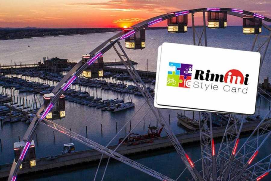 VisitRimini Karte im Rimini-Stil