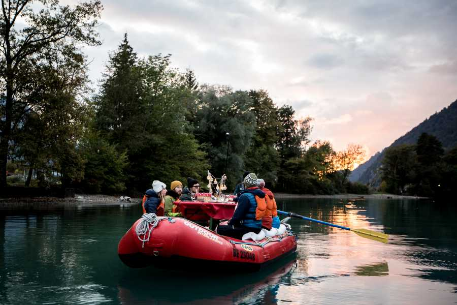 Outdoor Interlaken AG Raclette Rafting on Lake Brienz