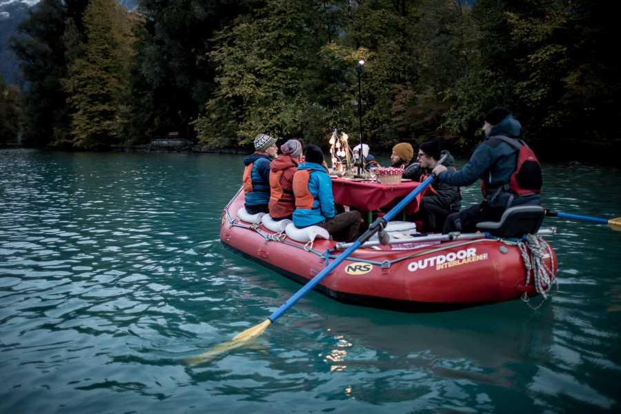 Outdoor Interlaken AG 브리엔츠 호수 라끌렛 래프팅 (RACLETTE RAFTING ON LAKE BRIENZ)