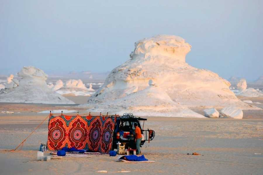 El Gouna Tours 2 dage udflugter til den hvide ørken fra Kairo