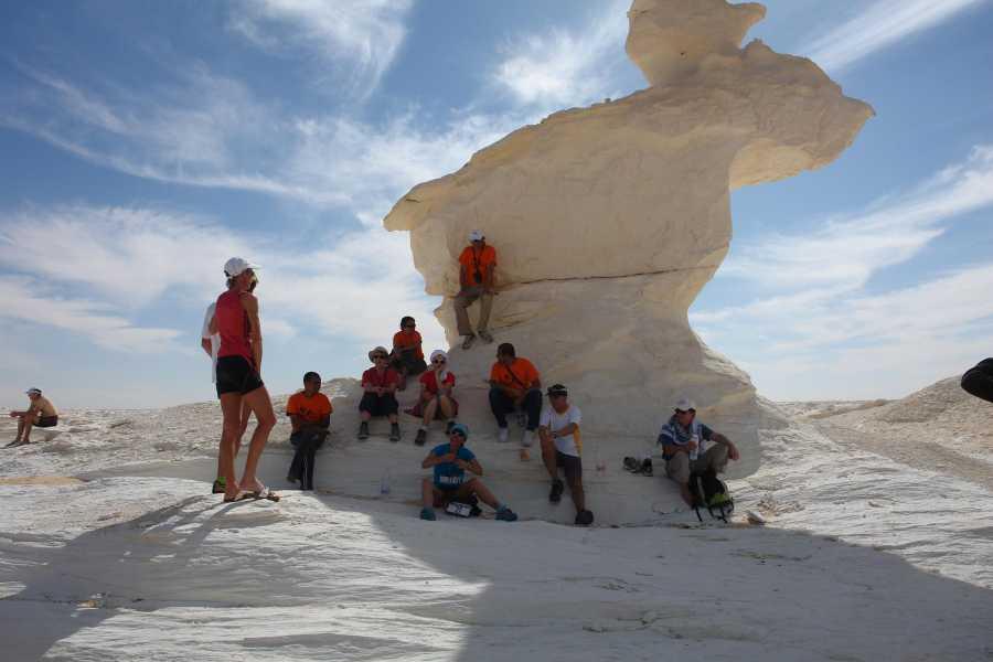 El Gouna Tours 3-dniowe wycieczki na Białą Pustynię z Kairu