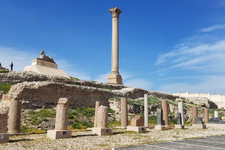 El Gouna Tours Overnight Excursion to Alexandria from Cairo